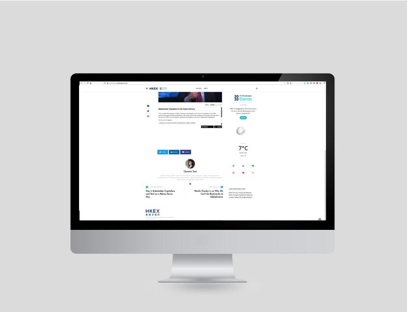 Website . Blog